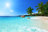 Anse Lazio Beach at Praslin Island, Seychelles Photographic Print by Iakov Kalinin