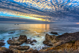 Garrapata State Beach Sunset Reproduction photographique par  Wolterk