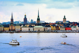 Stockholm, Sweden Cityscape from the Port. Photographic Print by  SeanPavonePhoto