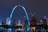 City of St. Louis Fotografisk trykk av  rudi1976
