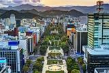 Cityscape of Sapporo, Hokkaido, Japan at Odori Park. Photographic Print by  SeanPavonePhoto