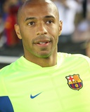 Aug 1, 2009, FC Barcelona vs Los Angeles Galaxy - Thierry Henry Fotografia por Robert Mora