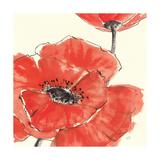 Spring Poppy II Schilderij van Chris Paschke