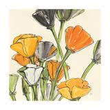 Wild Bouquet II Poster van Chris Paschke