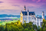 Neuschwanstein Castle in Germany. Photographic Print by  SeanPavonePhoto