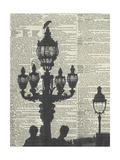 Architectural Paris III Poster van Marc Olivier