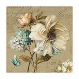 Marche de Fleurs Blue II Kunstdrucke von Lisa Audit
