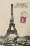 Paris 1900 Poster af Hugo Wild