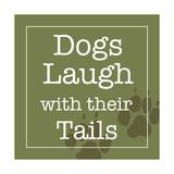 Dogs Laugh with their Tails Kunstdrucke von Hugo Wild