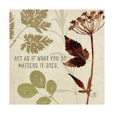 Leaves of Inspiration IV Poster di Sarah Mousseau