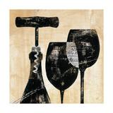 Wine Selection II Art par Daphne Brissonnet