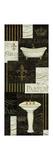 Bain De Luxe Collage I Premium Giclee-trykk av Daphne Brissonnet