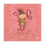 Liebe Kunstdrucke von Anne Tavoletti