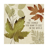 Leaves of Inspiration I Stampe di Sarah Mousseau