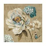 Marche de Fleurs Blue III 高品質プリント : リサ・オーディット