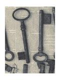 Parisian Keys I Giclée-Premiumdruck von Marc Olivier