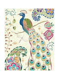 Peacock Fantasy III Affiches par Daphne Brissonnet