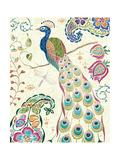 Peacock Fantasy III Posters av Daphne Brissonnet