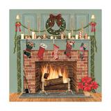 Home for the Holidays I Kunstdruck von David Carter Brown