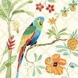 Tropical Paradise I Kunst av Daphne Brissonnet