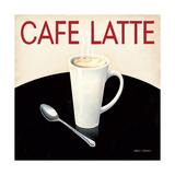 Cafe Moderne I Kunstdruck von Marco Fabiano