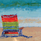 At the Beach Posters by Leslie Saeta