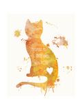 Cat Love Affischer av Anna Quach