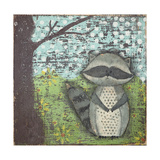 Raccoon Plakater av Cassandra Cushman