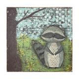 Raccoon Prints by Cassandra Cushman