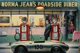 Ödets motorväg Affischer av Chris Consani