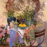 Mirror Flowers Posters by Allayn Stevens