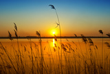 Sunset on the River Fotografisk trykk av  nadiya_sergey