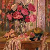 Pink Roses and Ballet Shoes Prints by Allayn Stevens
