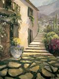 Italian Villa I Print by Allayn Stevens
