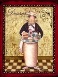 French Dessert Prints by Viv Eisner