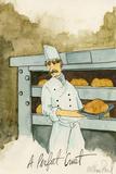 Crusty Bread Print by Alan Siegel
