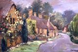 Cottage Road Art by Allayn Stevens