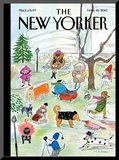 The New Yorker Cover - March 18, 2013 Mounted Print by Maira Kalman