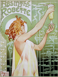 T Privat-Livemont Absinthe Robette Art Print Poster Pôsters