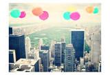 Central Park Balloons Pôsteres por Ashley Davis