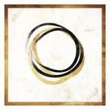 Gold Abstract II Print by Jace Grey