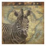 Zebra Travel Posters by Jace Grey