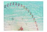 Skyline Ferris Wheel Posters par Ashley Davis