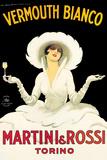 Martini & Rossi Plakater av Marcello Dudovich