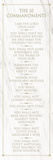 The 10 Commandments (white) Prints