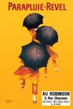Parapluie - Revel Print van Leonetto Cappiello