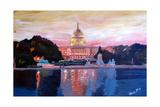 United States Capitol in Washington DC at Sunset Affiches par Markus Bleichner