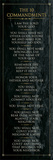 The 10 Commandments (black) Plakater