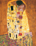 The Kiss (Der Kuss) Posters by Gustav Klimt