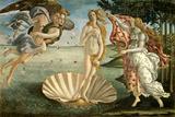 Geburt der Venus – Lila Foto von Botticelli